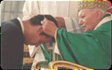 Bd with St. john paul
