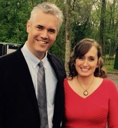 Bill and Rebecca